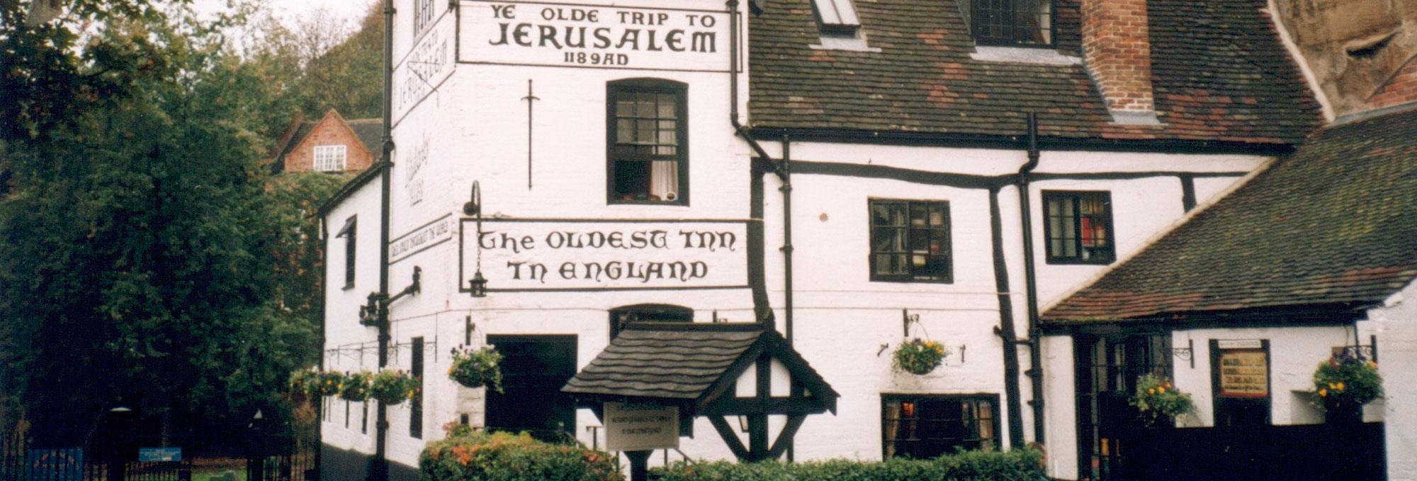 ye old trip to jerusalem