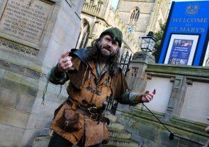 robin hood tour guide ezekial bone